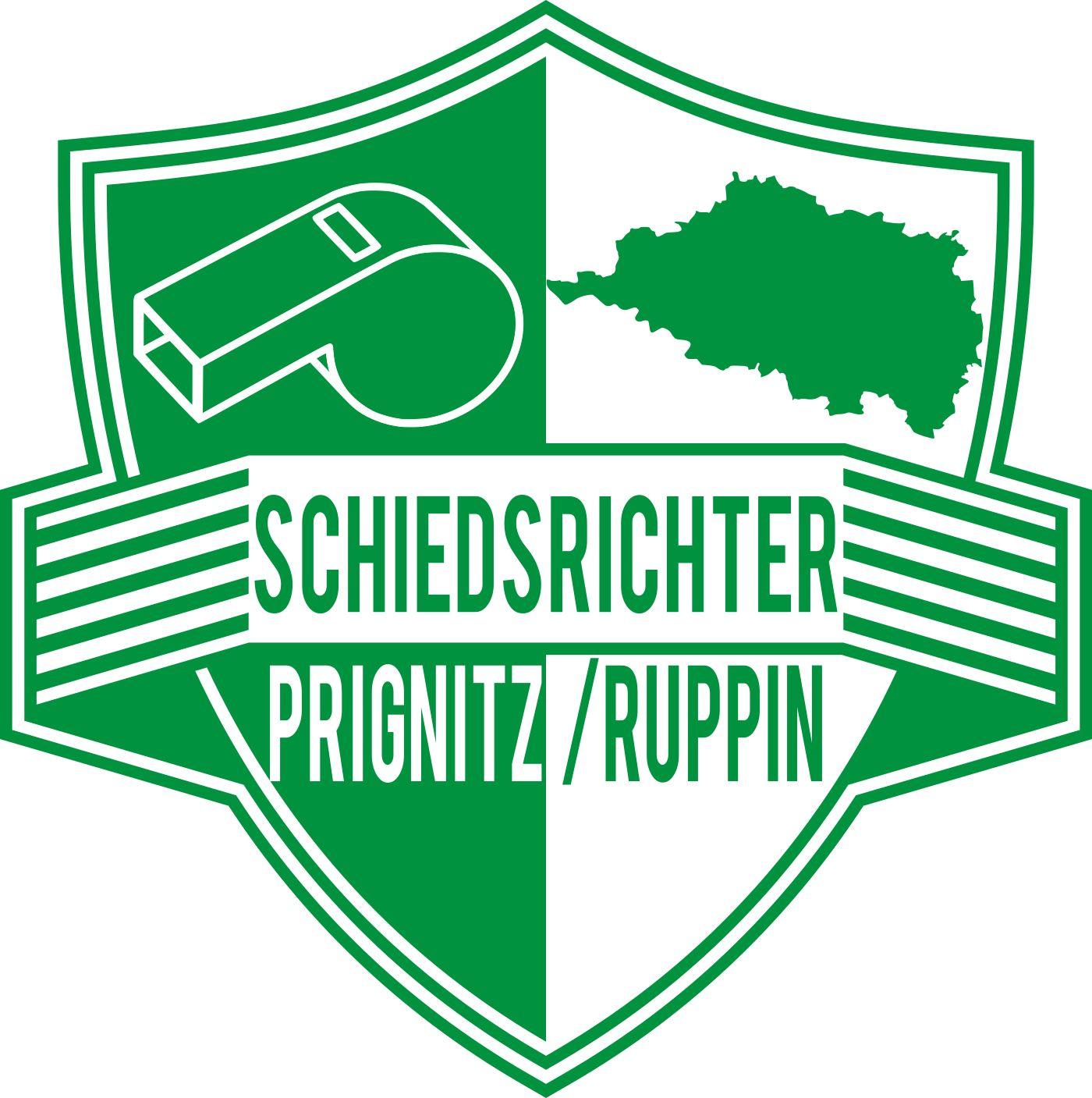 Logo der Schiedsrichtergruppe Prignitz/Ruppin